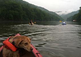 Cheat Lake Kayaking
