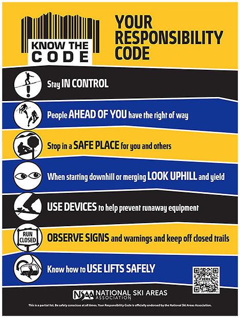 Skiier Responsibility Code