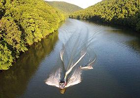 Cheat Lake Boating