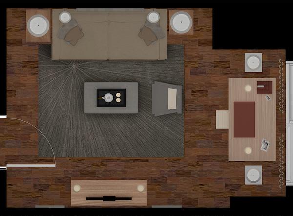 2D Furniture Layout