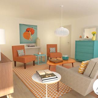 Living Room - Los Feliz CA