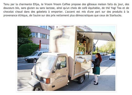 Vroom Vroom Coffee, vroem vroem koffie, mobiele koffiebar, café mobile, vroum vroum café, Elfje Van Muylem