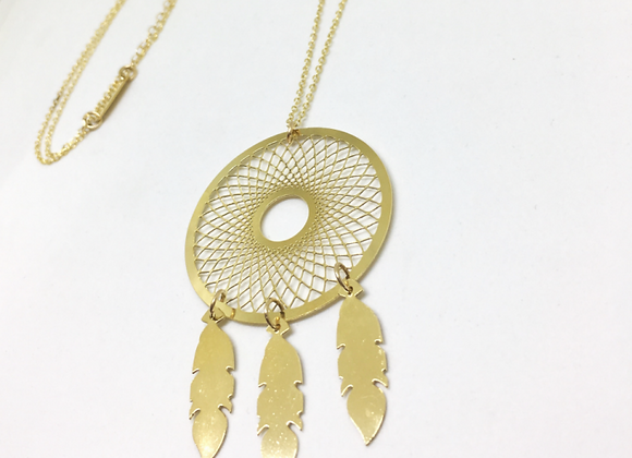 Dream Catcher Long Necklace