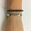 hematite Silver Arrow Bracelet