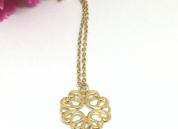 Flower Mandala Necklace