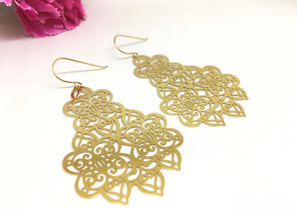 Taj Mahal Earrings