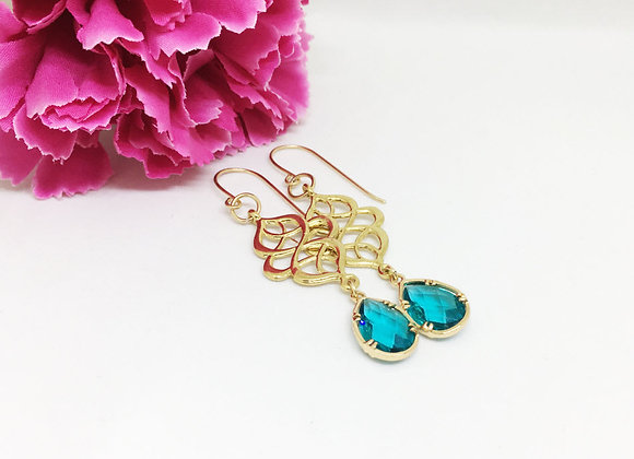 Colorful Chinese Knot Earrings