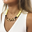 yellow Acrylic Necklace