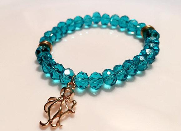 Sky Blue Crystal Bracelet