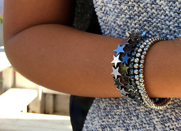 Star Bracelets Set