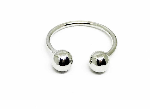 Adjustable Double Ball Ring