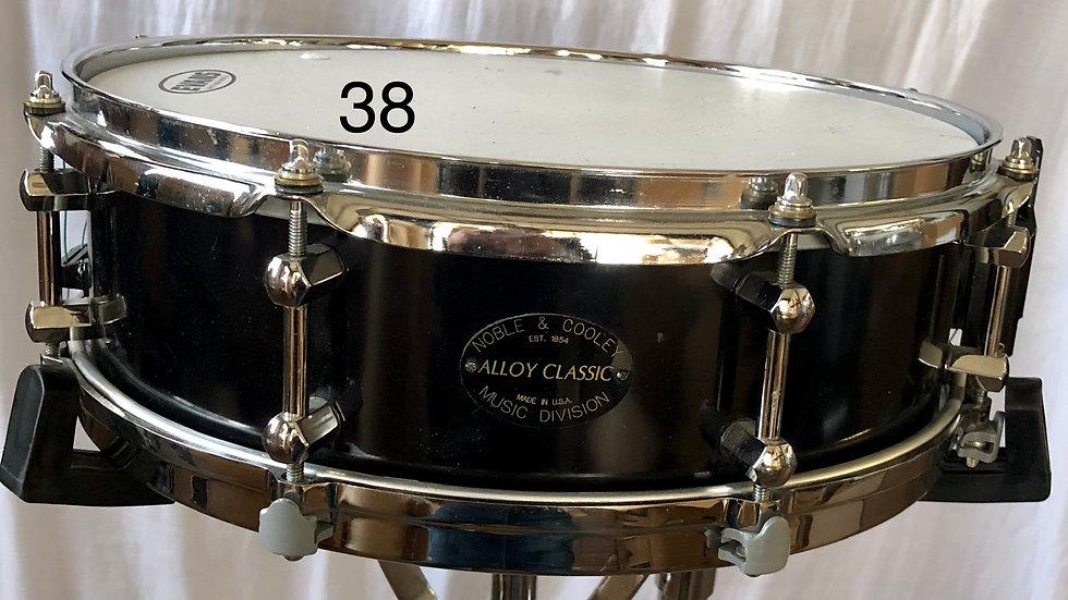 4-1/4x14 Alloy Classic, Satin Black Powder Coating