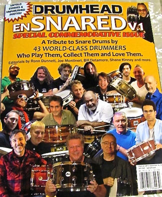 Lots of these cats played my snares. Wrote an article on building a snare drum.