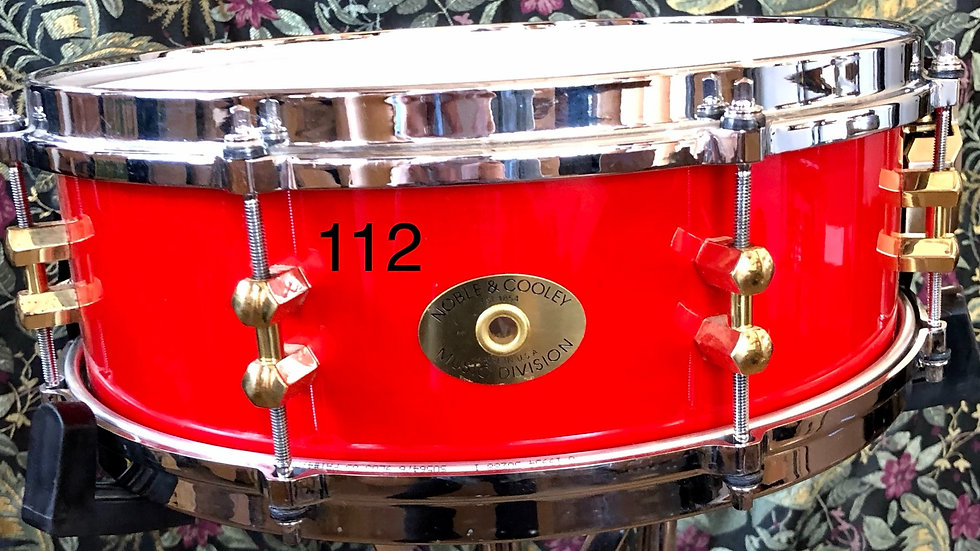 5x14 SS Red Lacquer