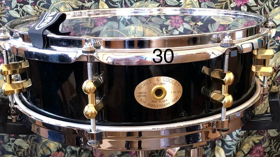 4x14 SS Classic, Black Lacquer, Early Version