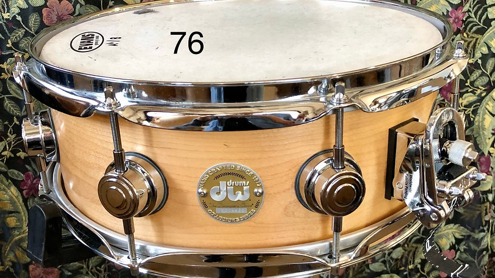 5x13 Maple DW, 1-ply Steam Bent Shell Excellent Condition