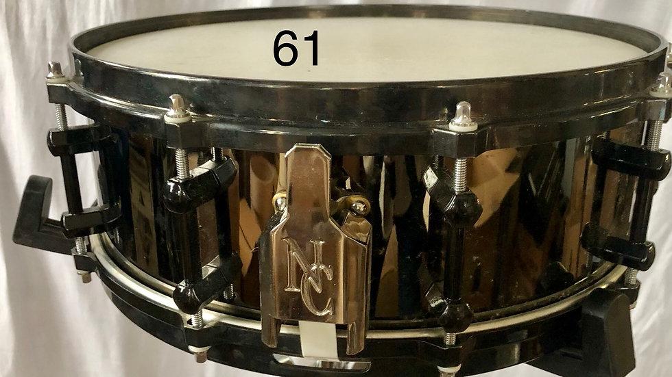 4-1/4x14 Black Prototype, Thin Brass Shell, Epoxy-Filled Edges