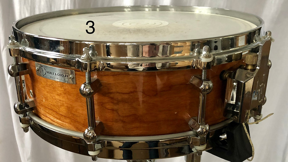 4-3/4x14 Cherry snare, no rings