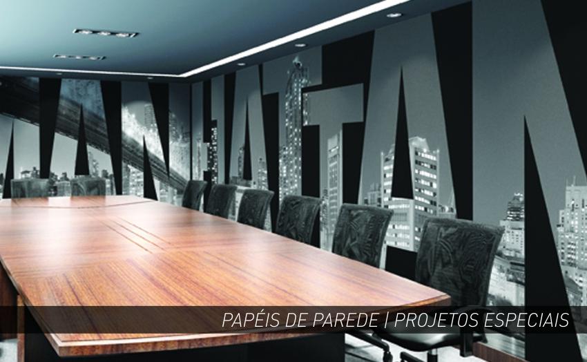 PAPEL DE PAREDE | SALA REUNIÃO