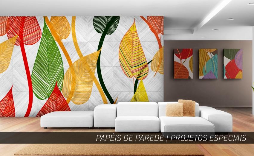 PAPEL DE PAREDE | SALA