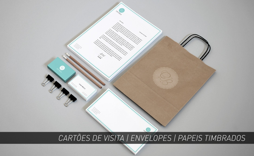 ENVELOPES | PAPEIS TIMBRADOS