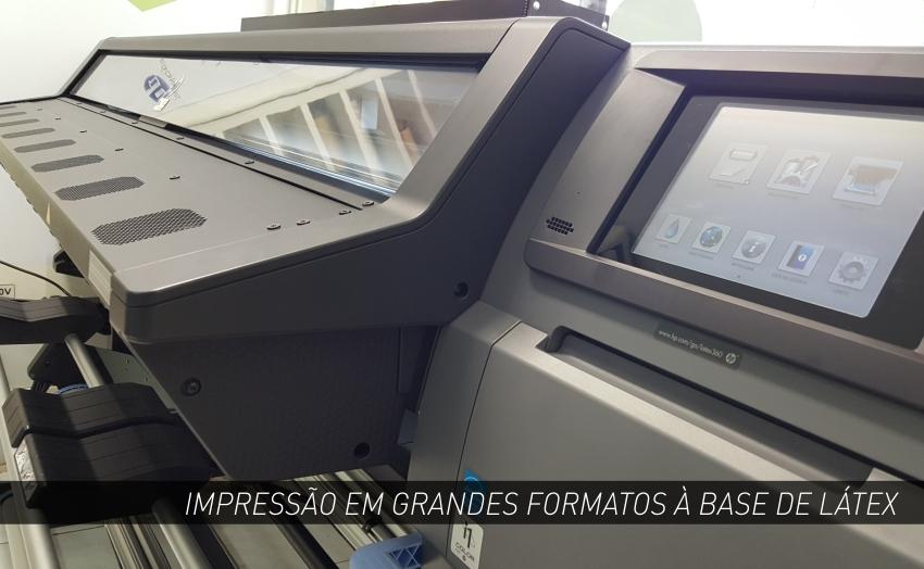 IMPRESSÃO À BASE DE LÁTEX