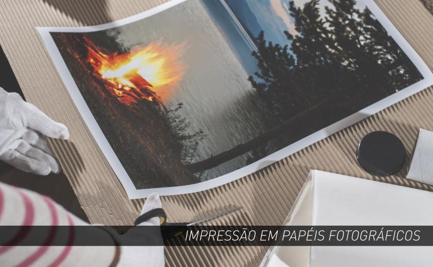 IMPRESSÃO EM PAPEIS FOTOGRÁFICOS