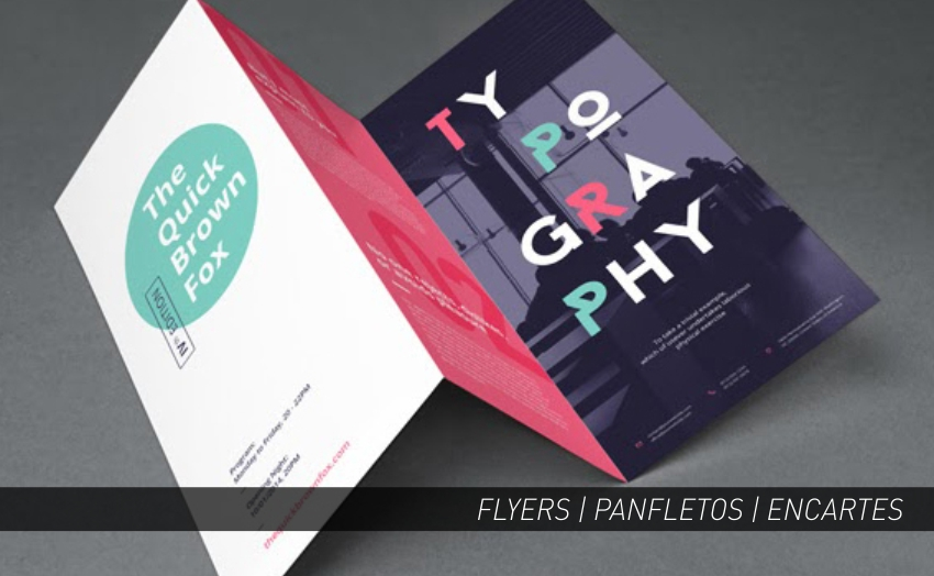 FLYERS | ENCARTES | PANFLETOS