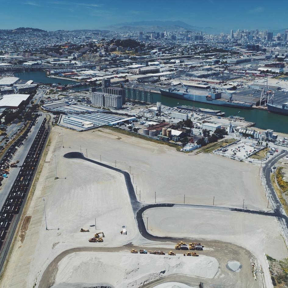 Pier 94 Backlands Improvement