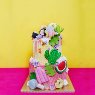 It's a tropical situation ✨_-_#sgcakes #