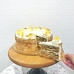 Hawaiian Carrot Cake - Carrot Cake layer