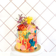 Before a cake comes to life! SWIPE LEFT