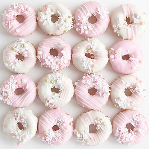 Vday Special Cake Donuts (Kids' Class)