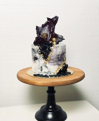 Geode X Marble Beauuuuty 💕 -_-_#sgcakes