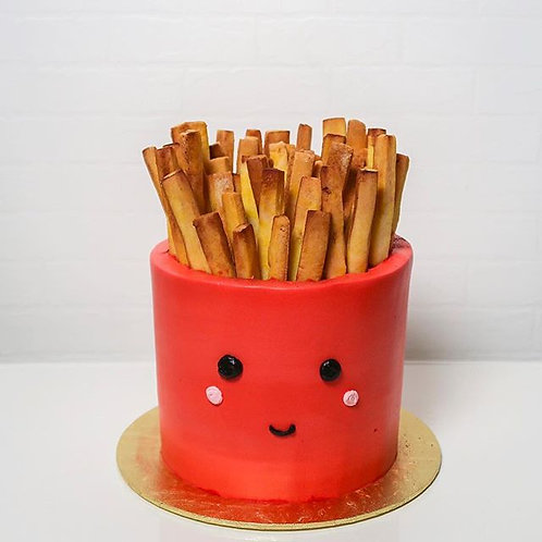 French Fries Cake