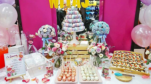 Our dessert table yesterday for _lasenza