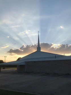 Church in Clouds