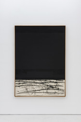 Composition black / ribbon