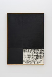 Composition black / loose grid open corner