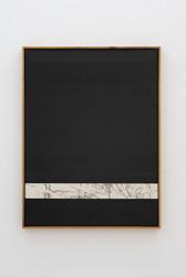 Composition black / heavy oil stick / hat / open line