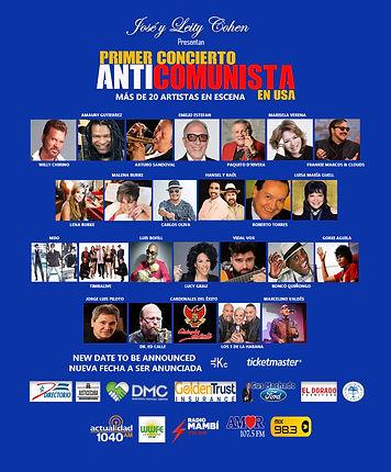 Primer Concierto Anti Comunista en USA