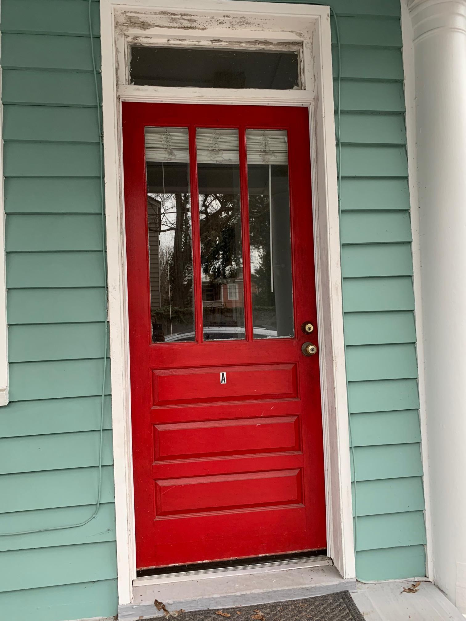 163.5 A Coming Street  door