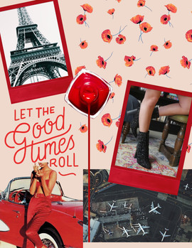 Seeing Red Mood Board