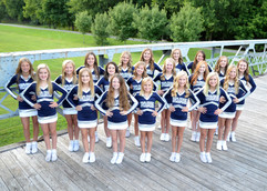 GLMS Competition Cheerleaders 2019-2020