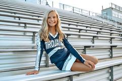 Chloey GLMS Cheer 2019