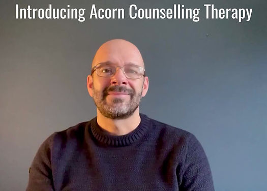 Peter Golder of Acorn Counselling therapy welcomes you and invites you to contact us with any questions.