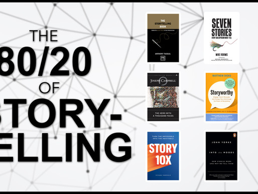 The 80/20 Guide to StoryTelling