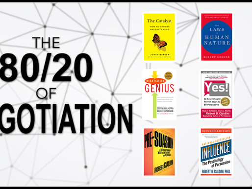The 80/20 Guide to Negotiation