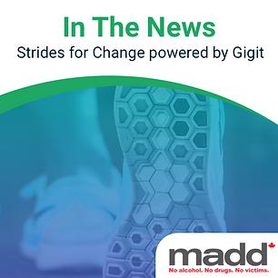 Gigit Community - MADD Strides Partner S