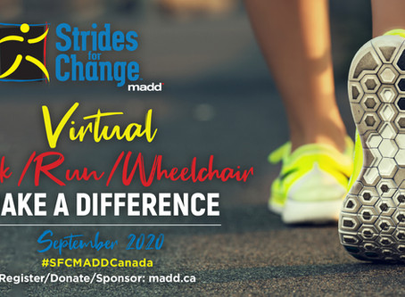 MADD Canada and Gigit Community Step out Together